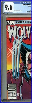 Wolverine Limited Series #1 CGC 9.6 NM+ 1st solo WOLVERINE comic Yukio Cameo