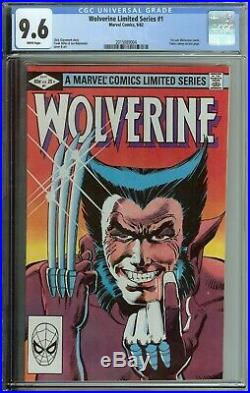 Wolverine Limited Series #1 Cgc 9.6 1st Solo Comic