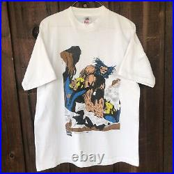 Wolverine Marvel Comics Graphic Vintage 1996 Mens L Officially Licenced T-Shirt