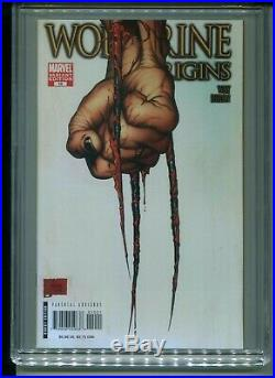 Wolverine Origins #10 CGC 9.8 (2007) Third 3rd Claw Variant 1st First Daken