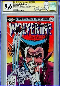 Wolverine Vol 1 1 CGC 9.6 SS X7 Stan Lee Miller Wein Rubenstein Thomas Shooter