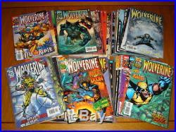Wolverine (vol 1) #100-189 Marvel Comics X-men Near Mint Set (90)