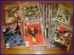 Wolverine (vol 1) #1-100 Marvel Comics 1988 Hulk Near Mint 9.4 Set (100)