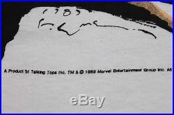 XL NOS vtg 80s 1989 WOLVERINE marvel comic t shirt 43.133