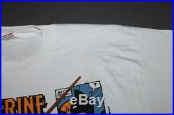 XL NOS vtg 80s 1989 WOLVERINE marvel comic t shirt 63.169