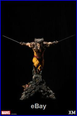 XM Studios Wolverine Brown 1/4 BRAND Statue NEW! FREE SHIPPING @ 101% AUTHENTIC