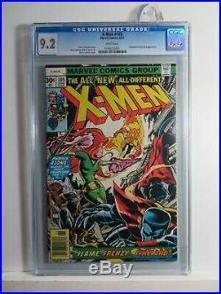 X-MEN 105 CGC 9.2 Phoenix+Wolverine+Cyclops+Storm Mutant Movie MARVEL Comic 1977