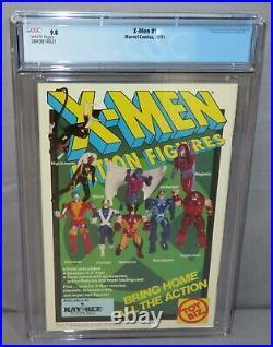 X-MEN #1 Gambit/Rogue Cover B (Acolytes 1st app) CGC 9.8 NM/MT Marvel Comic 1991