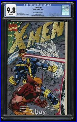 X-Men (1991) #1 CGC NM/M 9.8 White Pages Special Collectors Edition