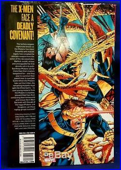 X-men Phalanx Covenant Omnibus Hardcover Rare Marvel Comic Hc Wolverine Rare Oop